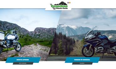 Carpathian 2 Wheels Guide – Touring Romania – Aplicatia mobila