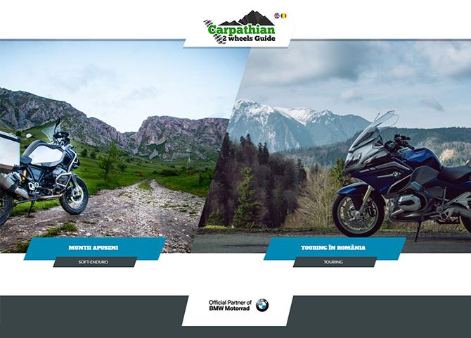 Carpathian 2 wheels guide