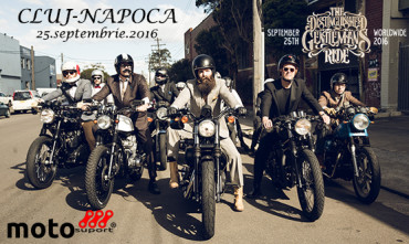 The Distinguished Gentleman's Ride – Cluj-Napoca