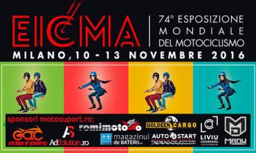 EICMA 2016 – salonul moto din Milano în direct