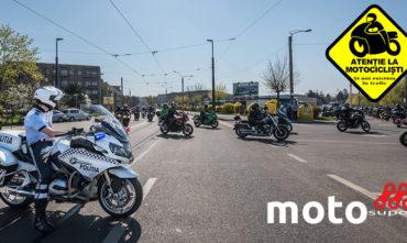 """Campania privind prevenirea incidentelor """"Atenție la Motocicliști"""" – 2017"""