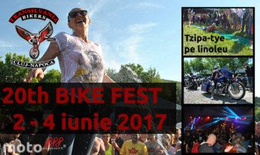 20th Bike Fest – Gilau – Transilvania Bikers – 2017