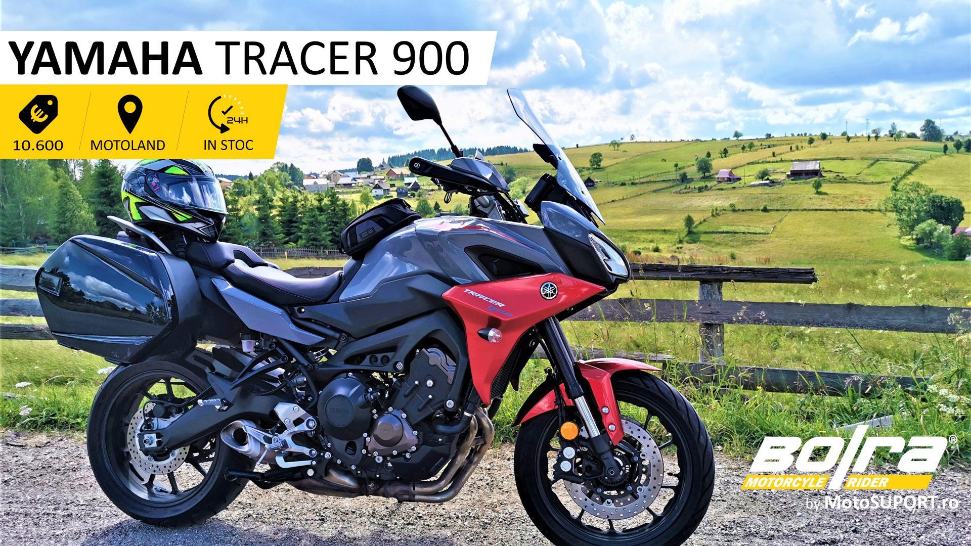 Test drive cu Yamaha Tracer 900 - 2019