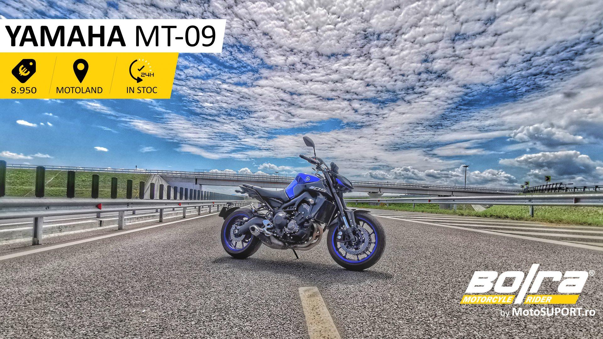 Test drive cu Yamaha MT-09