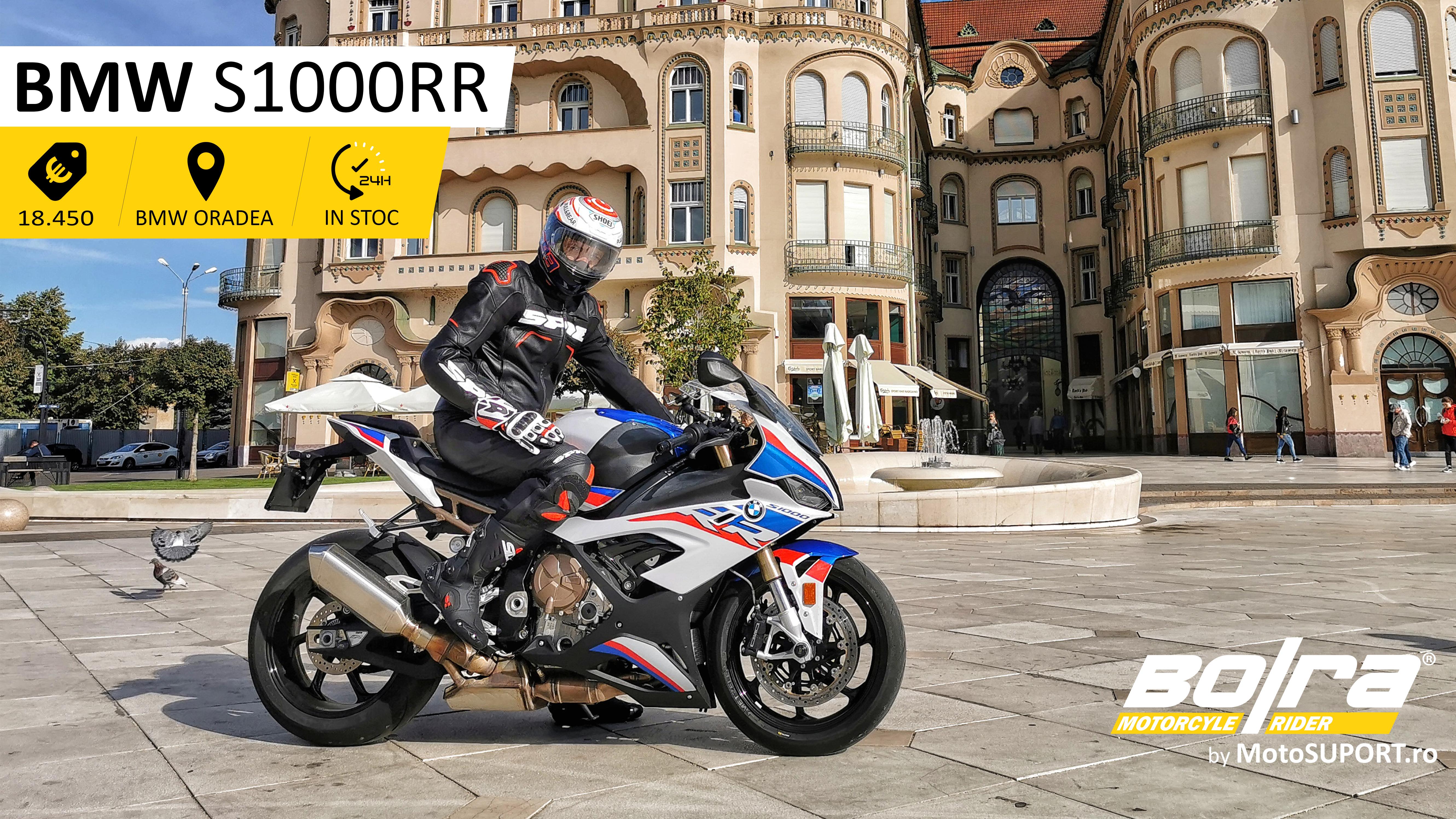Test drive cu BMW S1000RR