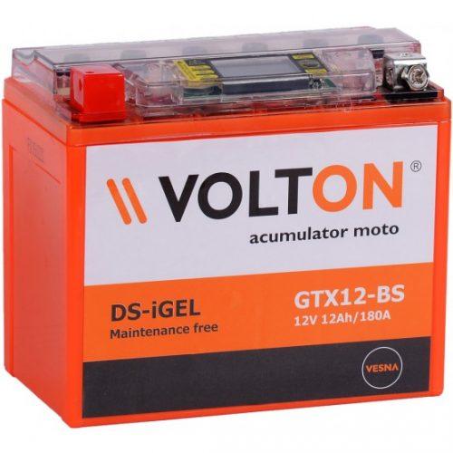 Baterie moto Volton DS-iGEL 12V 12Ah (GTX12-BS)